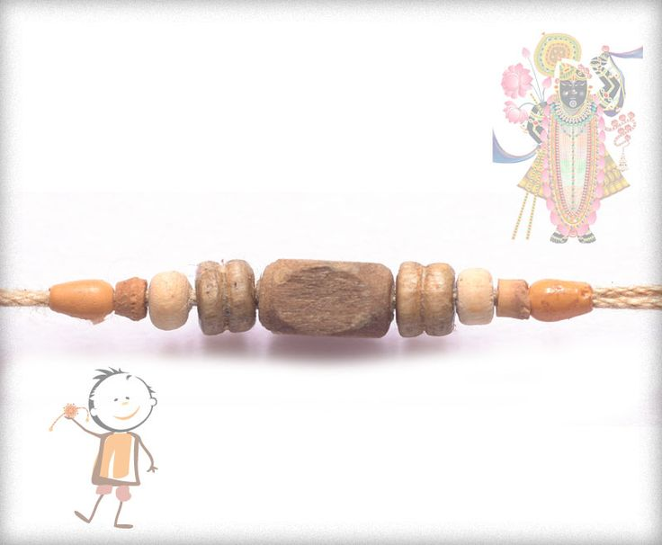 #Rakhi  Collection 2015 – Send #Rakhi to #India, #USA, #UK, #Canada, #Australia, #Dubai #NZ #Singapore. Simple Tulsi Beads Rakhi , surprise your loved ones with roli chawal, chocolates and a greeting card as it is also a part of our package and that too without any extra charges. http://www.bablarakhi.com/send-fancy-rakhi-online/1081-send-simple-tulsi-beads-rakhi-online.html