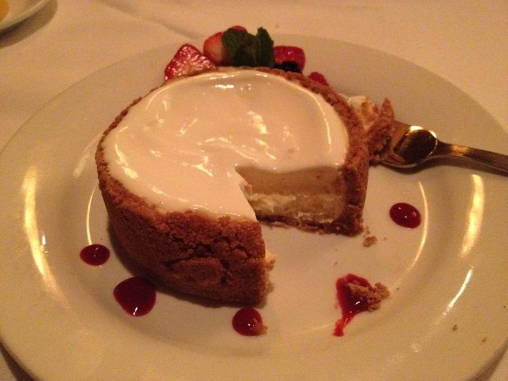 Ruth Chris Steakhouse Copycat Recipes: Cheesecake