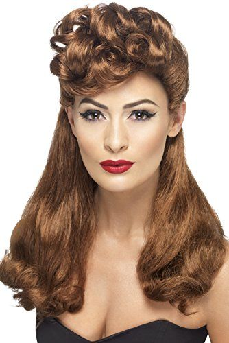 Smiffy's 40s Vintage Wig, Auburn, One Size Smiffy's https://www.amazon.com/dp/B00BBLEK2G/ref=cm_sw_r_pi_dp_x_5ngkybAXF83KC