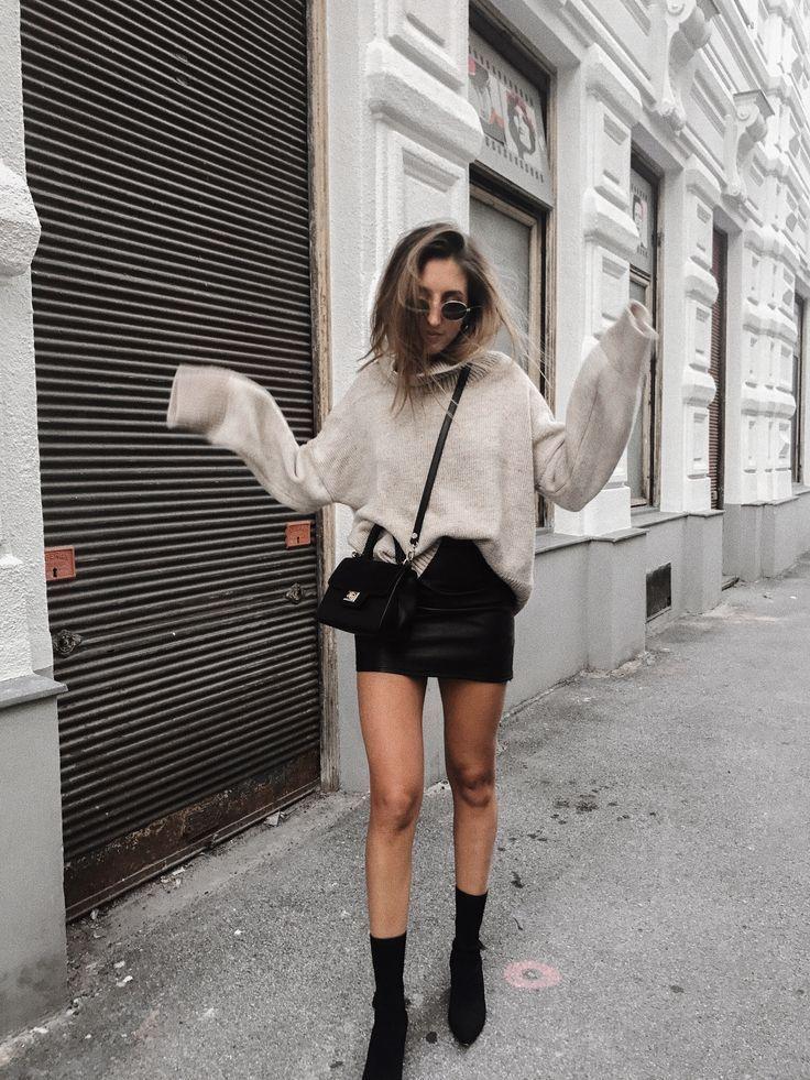 Outfits, mit denen Sie an kalten Tagen einen Pyjama tragen können