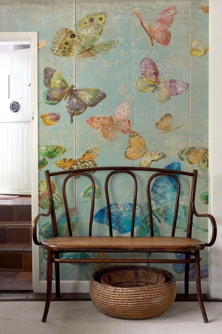 schmetterling w nde walls pinterest schmetterlinge. Black Bedroom Furniture Sets. Home Design Ideas