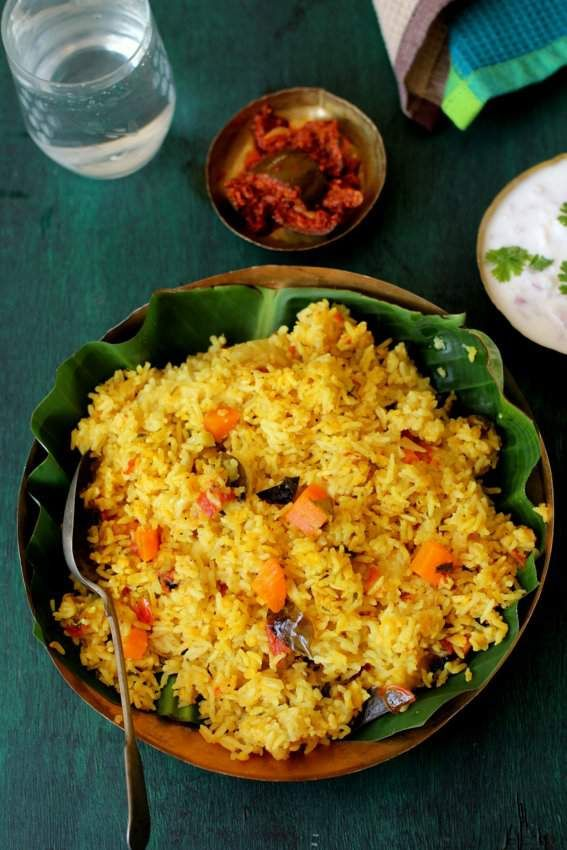 Masala khichdi, a quick, easy to make, wholesome and comforting one pot meal using rice, dal, vegetables and Indian spices