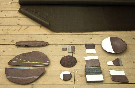 formafantasma experiments with materials from lava, fish skin ... etc