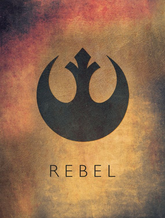 Star Wars Rebel Alliance Emblem Fan Art Digital by StaggDesign