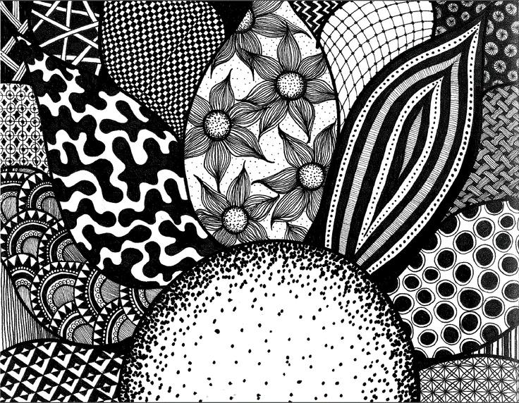 77 Best Images About Zentangle Bloemen On Pinterest