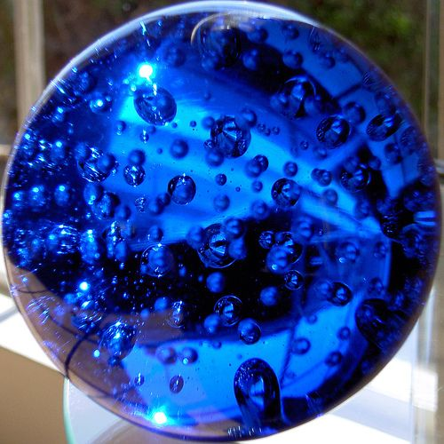Cobalt Paperweight Squircle