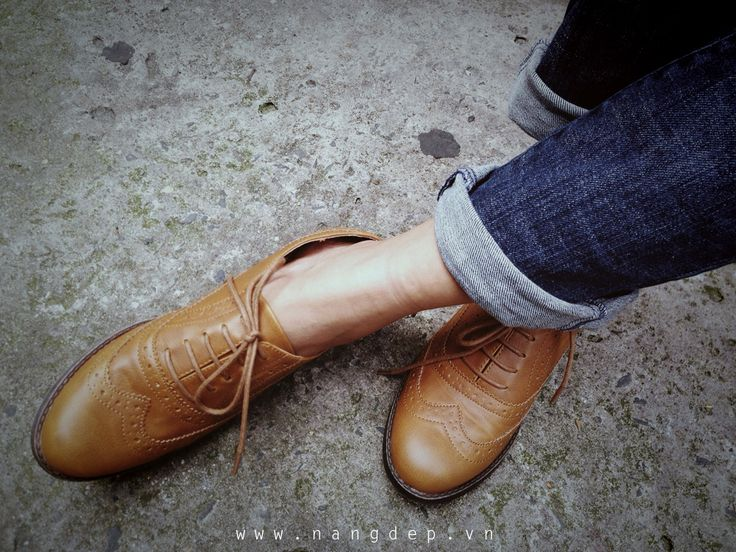 Nàng Đẹp » Giày Oxford, không chỉ dành cho các chàng trai ! (Oxford shoes)