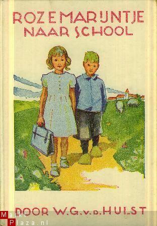 Uit zelfde reeks heb ik ooit een boekje rozemarijntje van het pleintje gelezen!:) Uber sweet Dutch book by W.G. vd Hulst