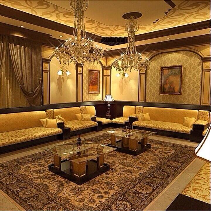 كنبات مجالس رجال ونساء فخمة مغربي وخليجي قصر الديكور Room Decor Furniture Living Room Decor