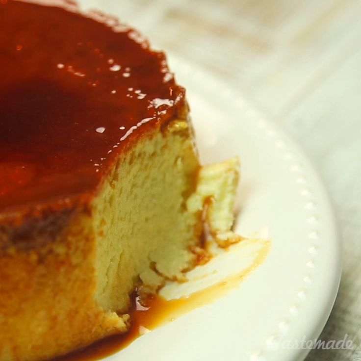 Coconut Flan Recipe from Brazil