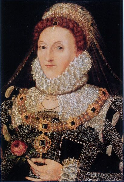 Queen Elizabeth I - i'm unsure the name of this portrait.