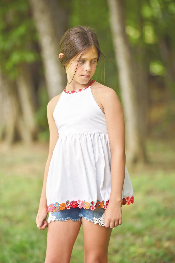 Blog — Little Lizard King - Tutorial Amsterdam top and dress pattern with decorative trim straps