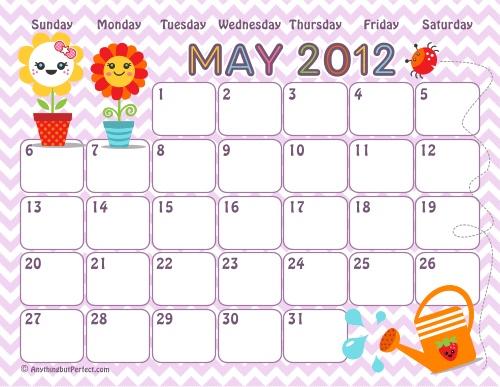 Lots of FREE printable calendars