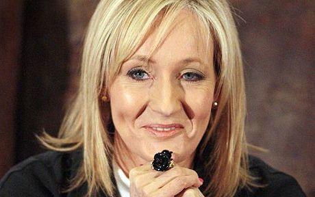 Scottish author JK Rowling