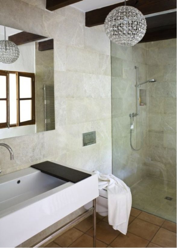48 best bathroom chandeliers: de rigueur, n'est-ce pas? images on