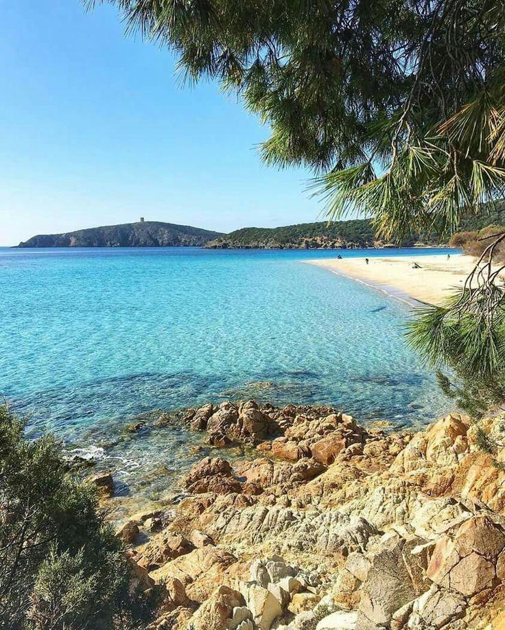 TUERREDDA -Teulada scatto di febbraio !  Sardinia-Cerdeña-Sardegna-Sardinien
