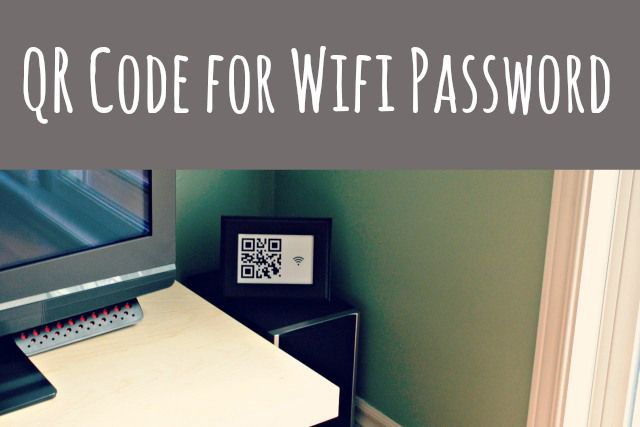 How to create your own QR code so visitors at your place can scan it and get your wifi password. Thanks Danielle this is awesome