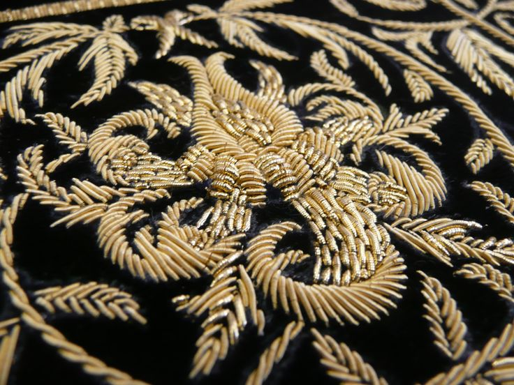 Goldwork Embroidery!