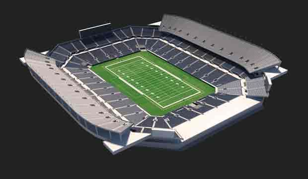 Buffalo Wild Wings Bowl Virtual Venue By Iomedia With Images Camping World Camping World Stadium Seating Charts