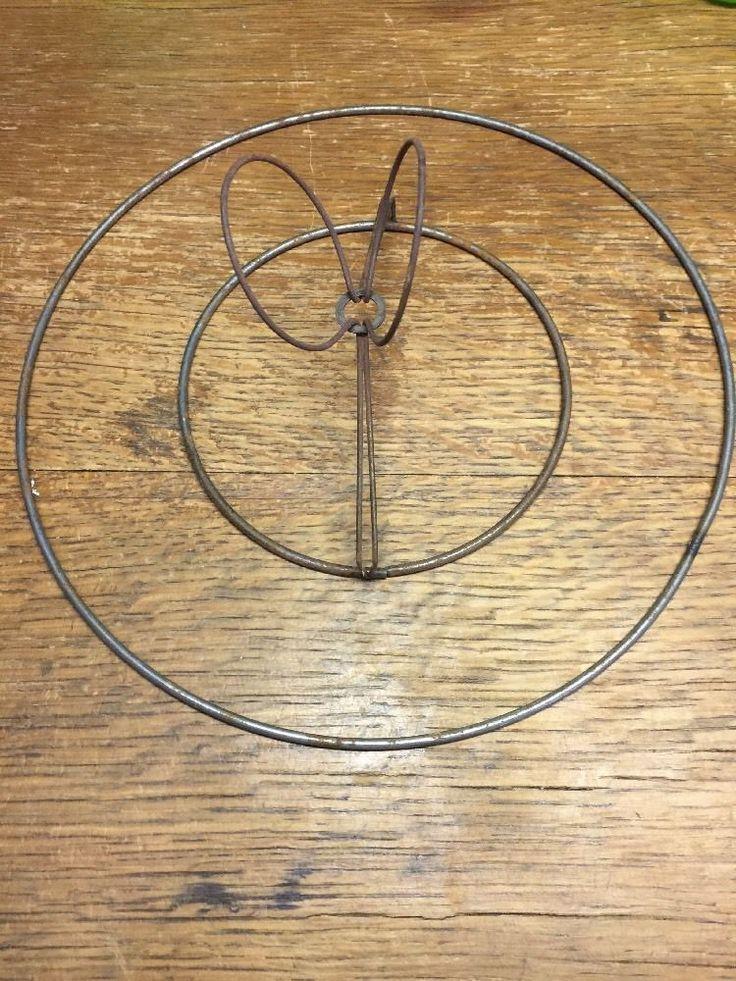 detalles acerca de cortina de lmpara vintage alambre clip en forma de marco piezas de la lmpara pao restauracin 9 5 mostrar ttulo original