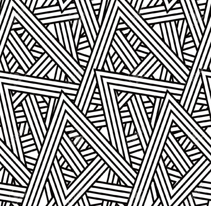 Image Result For Triangle Patterns Art Deco Pattern Triangle