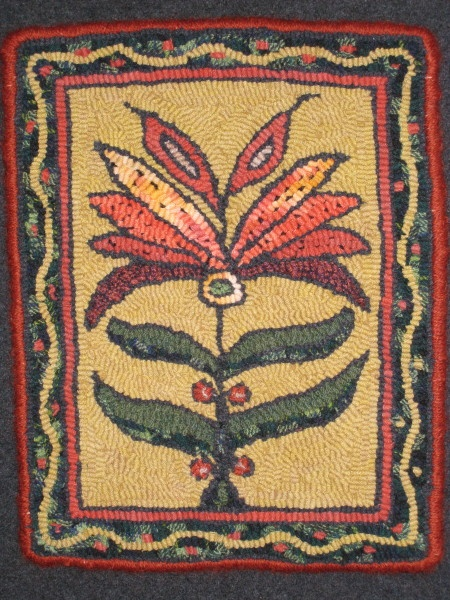 294 Best Vintage And New Hooked Rugs Images On Pinterest