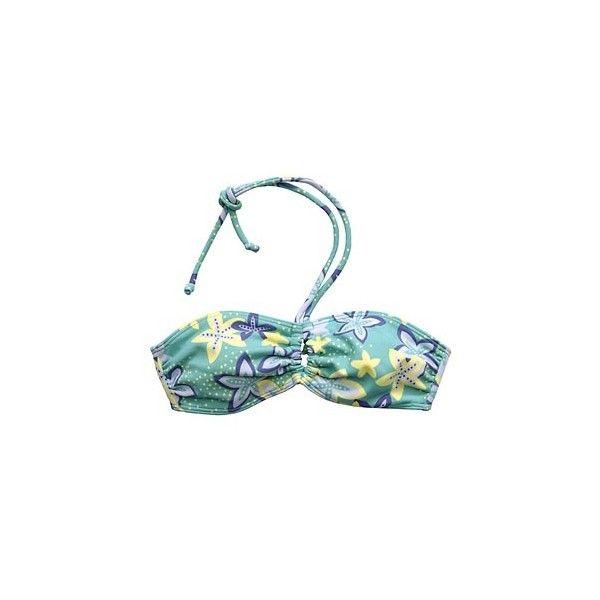 holllister starfish bandeau bikini top ❤ liked on Polyvore featuring swimwear, bikinis, bikini tops, bathing suits, swimsuits, bandeau swimsuit top, bathing suits two piece, bandeau tops, bandeau bikini tops and bandeau top bikini