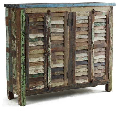 Shabby Chic Sideboard Cabinet - eclectic - buffets and sideboards - new york - Zin Home