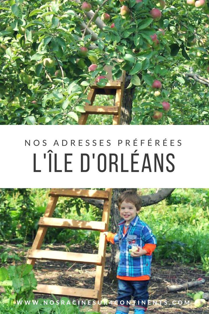 Nos adresses préférées pour profiter de l'île d'Orléans en famille #quebec