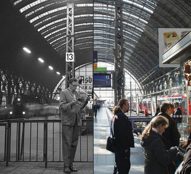 So sehr hat sich Frankfurt am Main seit 1958 verändert