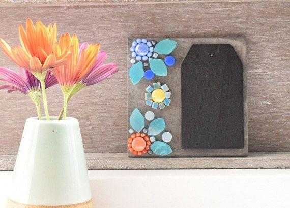 Mozaiek tegel kleurrijke bloemen floral