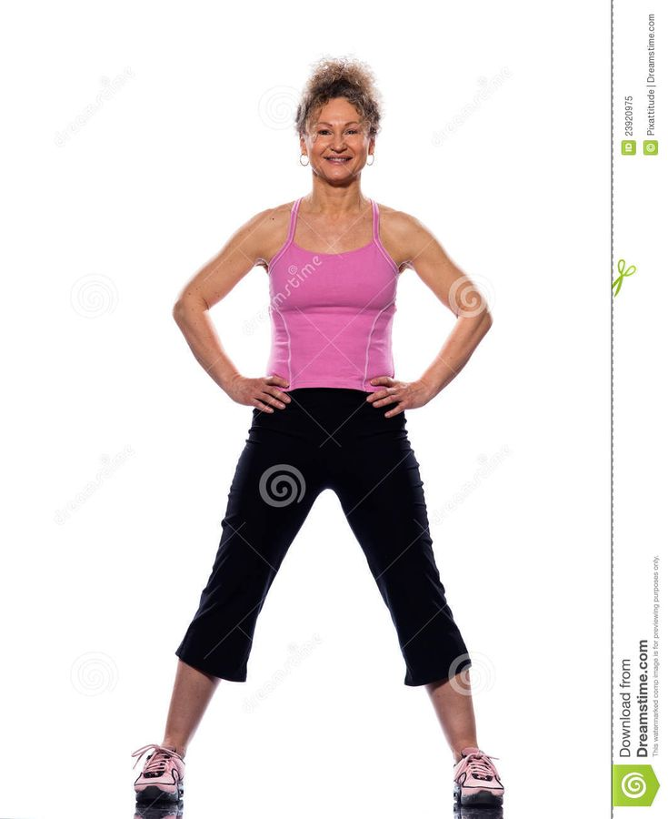 23 best health and fitness images on pinterest exercise workouts mature woman on isolated white background doing stretching exercise fandeluxe Images