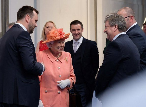 On July 6, 2017, Queen Elizabeth II has officially opened a new factory building for the UK's top producer of bottled water. The Queen visited Highland Spring factory building in Blackford, Perthshire.