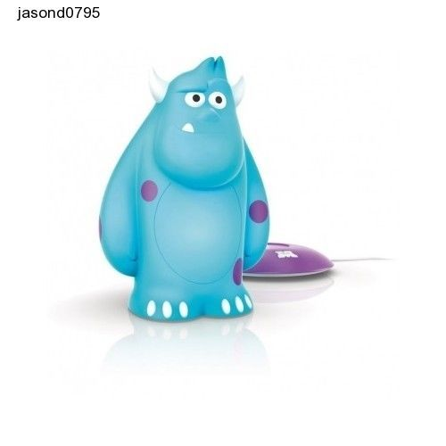 Night Lamp Philips Disney Sulley Soft Pal Light and Table Stand Free interntio