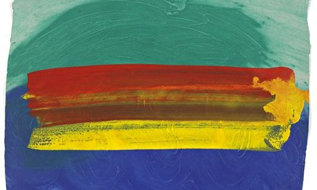 'The series represents one part of Hodgkin's life-long love affair and fascination with India, a country he has been visiting since 1964. Each gouache has an evocative title linked to a place or event or sensation – Mumbai Wedding, Border, Orange Sunset, Another Rainbow, Goanese and so on.' (Brown, 10/11/14).