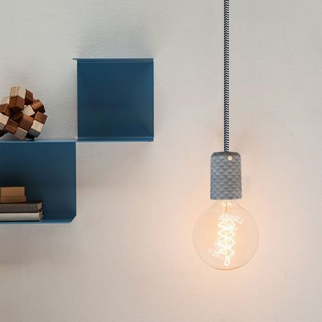 This Concrete Pendant Lamp brings ambience to your room. Stylish and minimalistic design with customizable colors to fit your personality and interior.