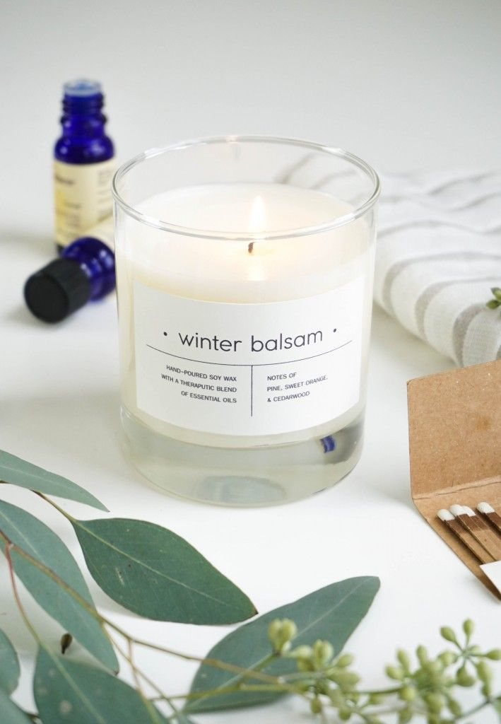 DIY Essential Oil Holiday Candles | Francois et Moi #christmas #gift                                                                                                                                                     More