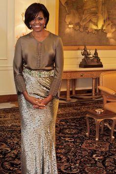 Michelle Obama Style & Fashion Icon: Pictures | British Vogue