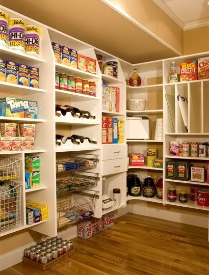 Can I Store Canned Food In The Garage