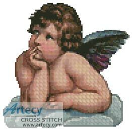Cherub Counted Cross Stitch Pattern http://www.artecyshop.com/index.php?main_page=product_info&cPath=31_36&products_id=1218