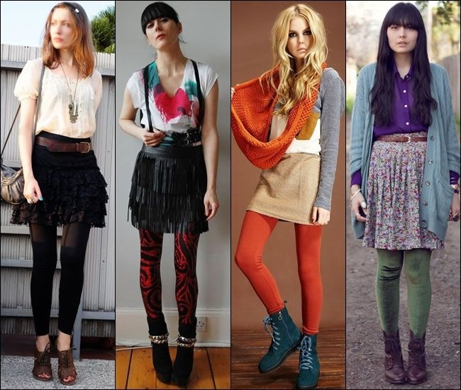Attractive And Stylish Dresses To Wear With Leggings