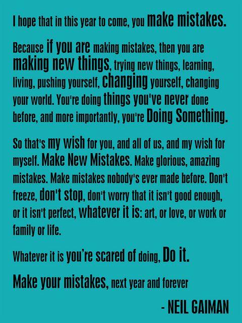 Neil Gaiman New Year Quotes: Yes. :: New Year's Wish (2012 Version) - Neil Gaiman