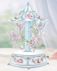 Charming music box plays On The Wings Of Love.