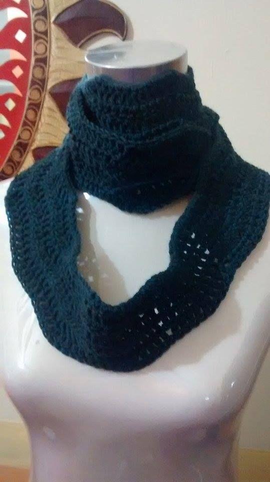 scaldacollo in lana,uncinetto,crochet