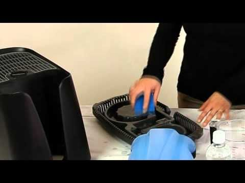 How to clean a cool mist humidifier... because they can get pretty gross after regular use...