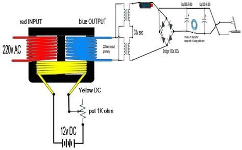 Homemade TIG Welder | Tech stuff: TIG schematics and components(DIY)