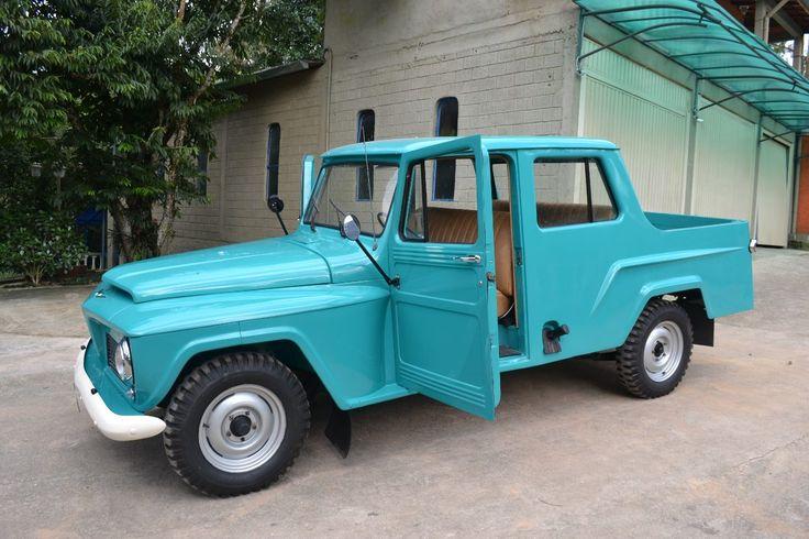 jeep willys ford f75 cabine dupla 3 portas modero rarissimo.