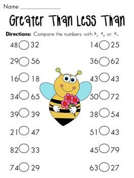 math worksheet : 1000 images about tilita iii on pinterest  place values  : Math Greater Than Less Than Worksheet