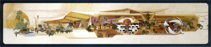 Communicore, Future World, EPCOT Center, Walt Disney World