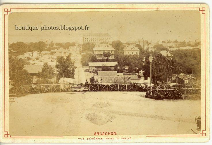 Boutique-Photos:  Arcachon vue générale prise du Casino Photographi...